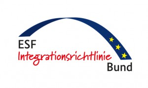 Logo ESF Integrationsrichtlinie Bund
